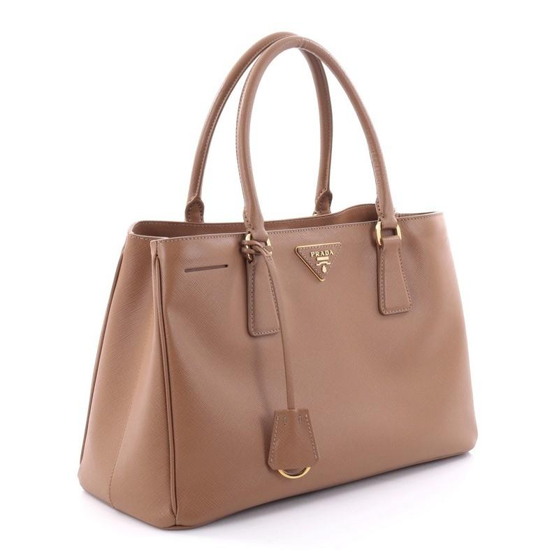 9903a9430656 discount prada gardeners leather tote in brown. 123456789 15107 ae8f3