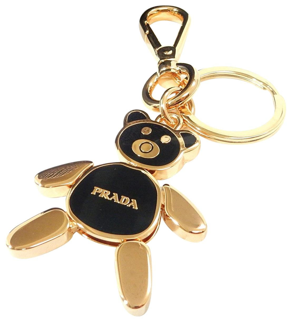 Prada ring detail keyring - Black p4sMngV9