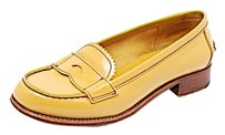 Prada Loafers Yellow Flats