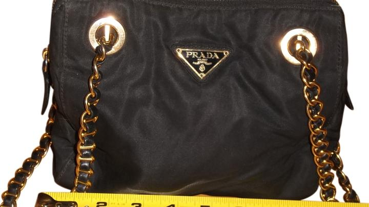 2a76474d5eaf19 coupon code for prada shiny logo leather trim label inside compartment  hallmarks shoulder bag 7fcf4 b6c5b