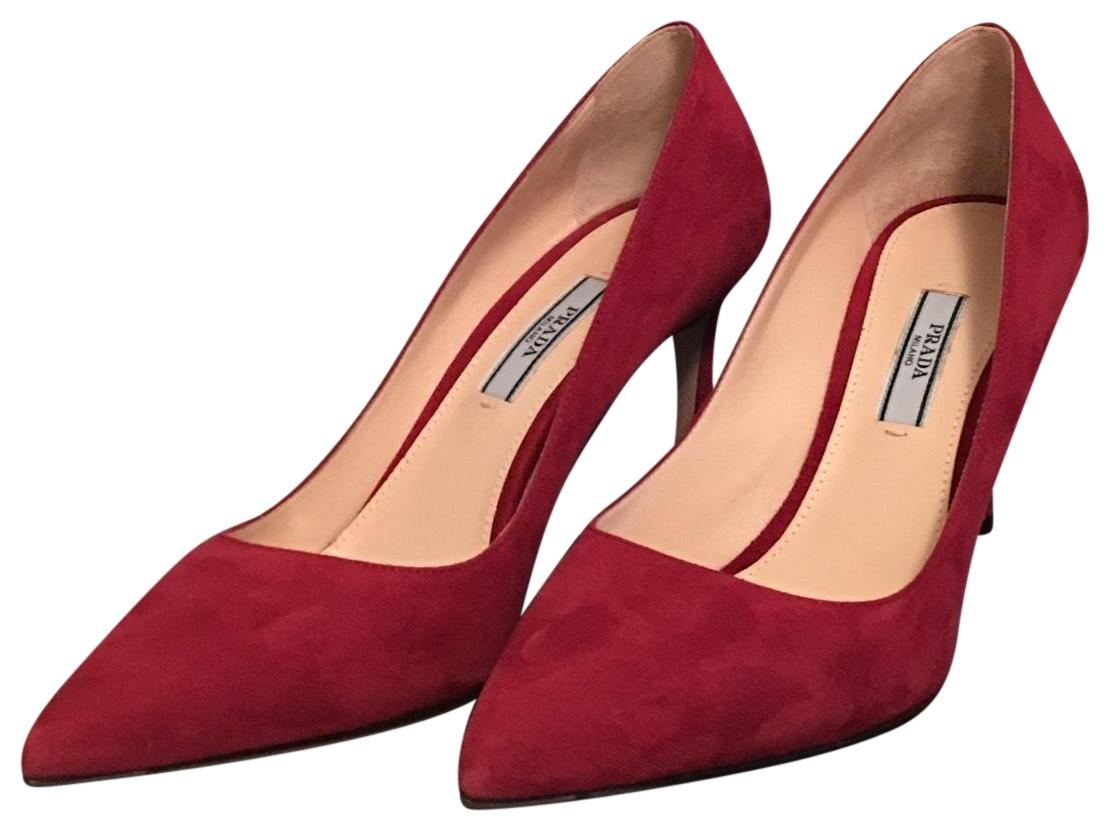 452799fb809a Prada Porpora Pointed Pointed Pointed Toe Pumps Size US 7.5 Regular ...