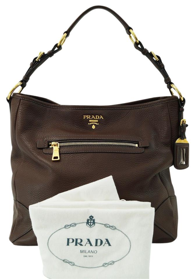 7c006fa74c where can i buy cheap prada bn1677 coffee leather pleat detail single tote  bag sales 174af f04d4  store prada sacca vitelo daino shoulder bag 81519  90240
