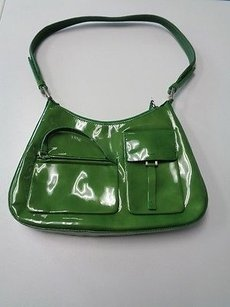 Prada Milano Patent Shoulder Bag