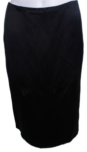Prada Silk Skirt BLACK