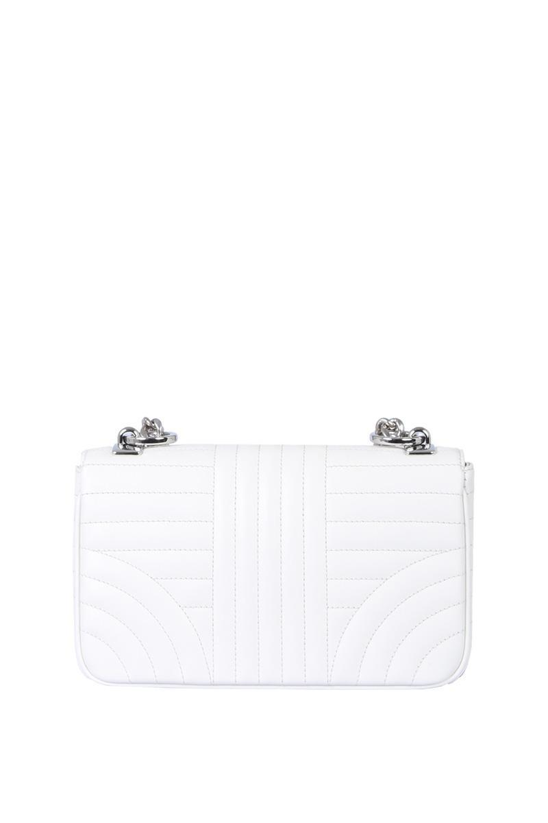 41f2c64b32ee ... amazon prada small quilted chain white cross body bag tradesy 8acc6  96683