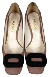 Prada Tan Pumps