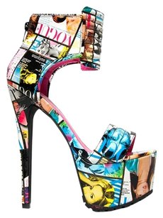 Privileged Ankle-strap Bfexclusive Multi/Print Sandals