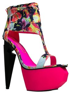 Privileged Multi/Print Sandals