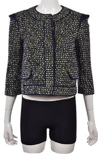 Proenza Schouler Womens Black Multi-Color Jacket