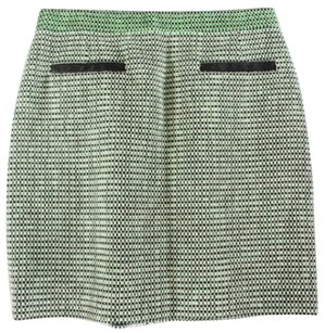 Proenza Schouler Green Leather Skirt