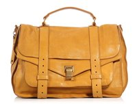 Proenza Schouler Ps.k0914.03 Ps1 Rose Gold Brass Leather Satchel