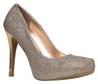 Qupid Gold Pumps