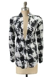 Rachel Roy Top Black-White