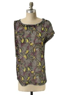 Rachel Roy Butterfly Wing Top Multi-Color