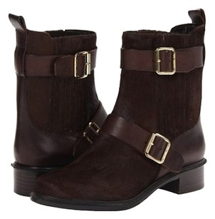 Rachel Zoe Boot Pony Riding Saddle BROWN Boots
