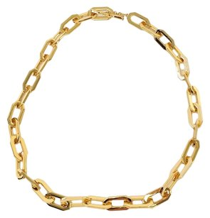 Rachel Zoe Gold Chain Link Necklace