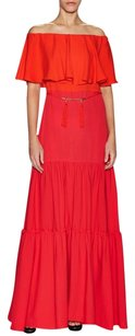 Rachel Zoe Jumelle Silk Maxi Off Dress