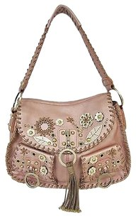 Rafe Metallic Shoulder Bag
