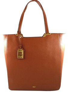 Ralph Lauren Leather Tote in Brown