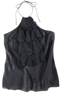 Ralph Lauren Black Silk Yh Top