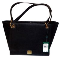 Ralph Lauren Brand New Shelf Pull Tote in Black