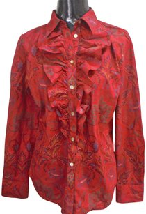 Ralph Lauren Button Down Button Down Shirt Red