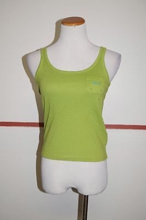 9f1b624ba3b06 Ralph Lauren Green Cotton Sleeveless Solid Casual Tank Top 22160 low-cost