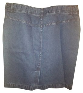 Ralph Lauren Collection Skirt Blue denim