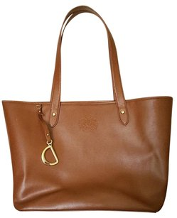 Ralph Lauren Leather Chic Shoulder Bag