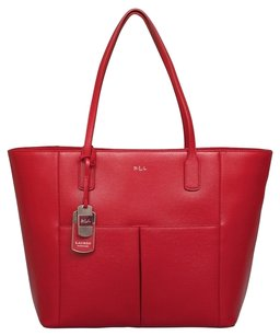 Ralph Lauren Newbury Pocket Tote