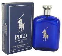 Ralph Lauren Polo Blue By Ralph Lauren Eau De Toilette Spray 6.7 Oz
