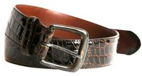 Ralph Lauren RALPH LAUREN Brown Genuine Alligator leather Belt