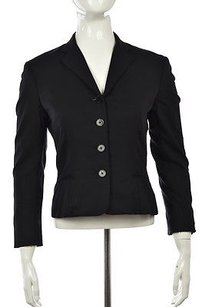 Ralph Lauren Ralph Lauren Collection Purple Label Womens Black Blazer Wtw Jacket Top