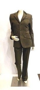 Ralph Lauren Ralph Lauren Green Wool Pants Suit 1046 Jacket 642 Pants