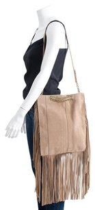 Ramy Brook Stevie Light Brown Cross Body Bag