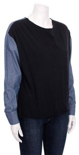 Raquel Allegra Navy Top Blue