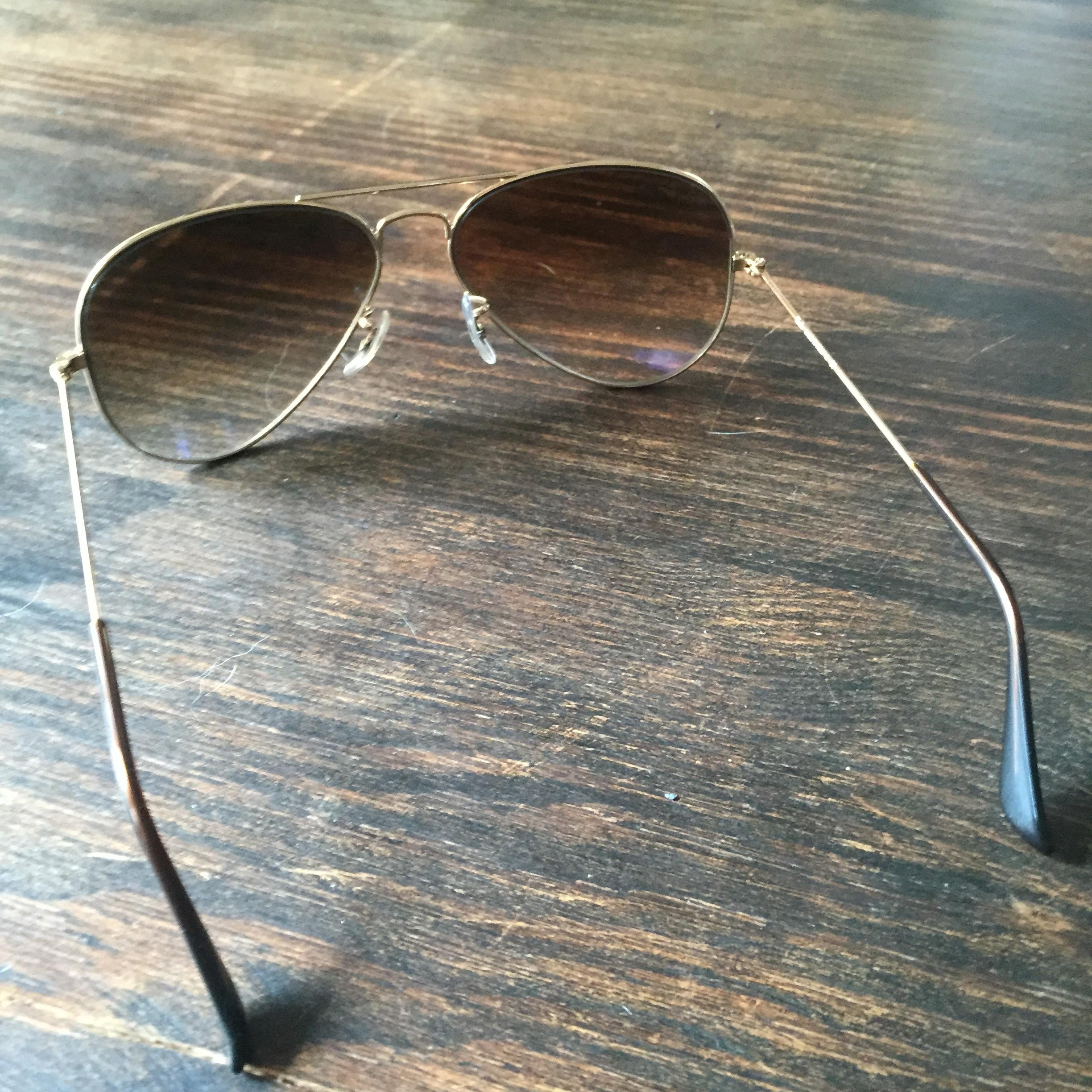 d9bcea68a7 ... get ray ban brown gradient aviator flat metal rb3513 149 13 sunglasses  tradesy 3881c fbf96