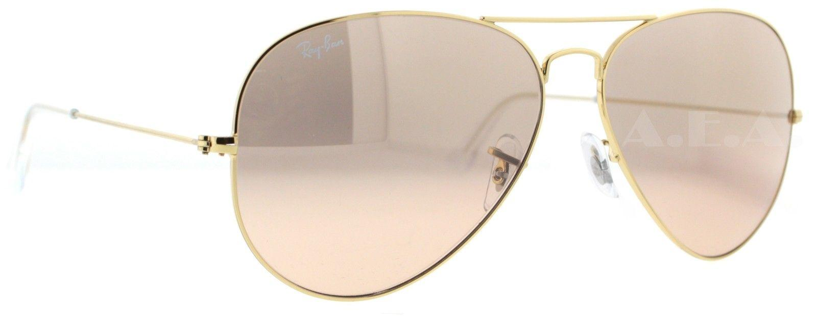 ray ban 3025 55mm silver mirror