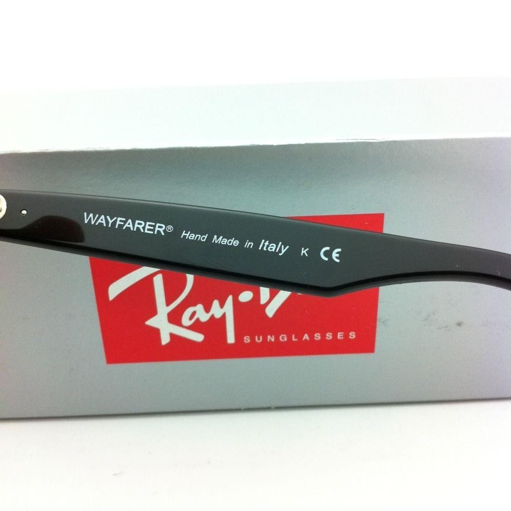 ray ban wayfarer colors gk4e  Ray-Ban New Ray-Ban Sunglasses RB 2140 901 50-22 WAYFARER Black