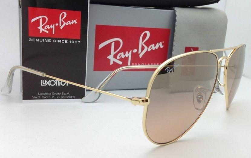 pink ray ban sunglasses bfq0  Ray-Ban New Ray-Ban Sunglasses RB 3025 Large Metal 001/3E 55
