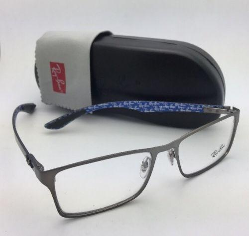 1ecbe733d1f77 ... usa ray ban new rx able rb 8415 2620 53 17 gunmetal blue w carbon fiber  ...