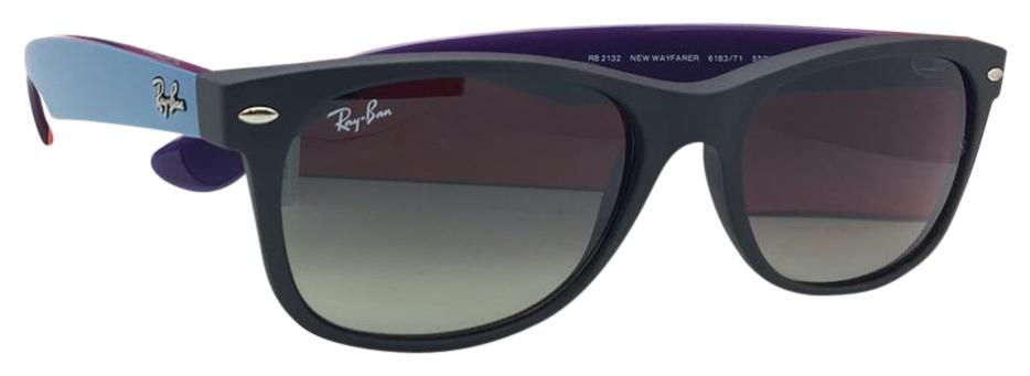 Ray-Ban New Wayfarer RB2132 618371 52-18 JLi3cbME