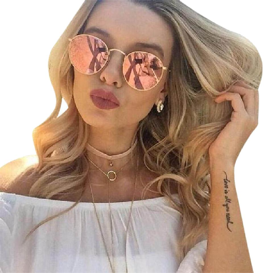 2d03f9a052 ray ban rb3447 round metal rose