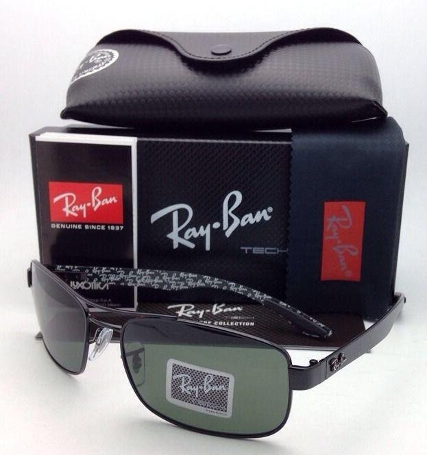 5a2c2f3acb ... inexpensive italy ray ban polarized tech series black w green sunglasses  tradesy de352 cbd1c b91a4 0f7d6
