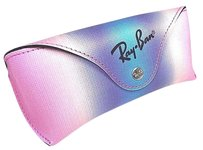 Ray-Ban Ray Ban Sunglasses Case Rainbow MEDIUM with Cleaning Cloth