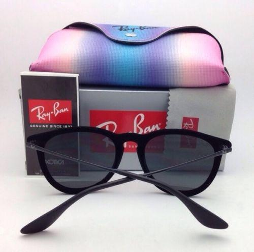 d70fcb1180d ... glasses f324a 0a0ec  switzerland ray ban rb 4171 erika 6075 6g black  velvet frame w gray mirror 6075 6g
