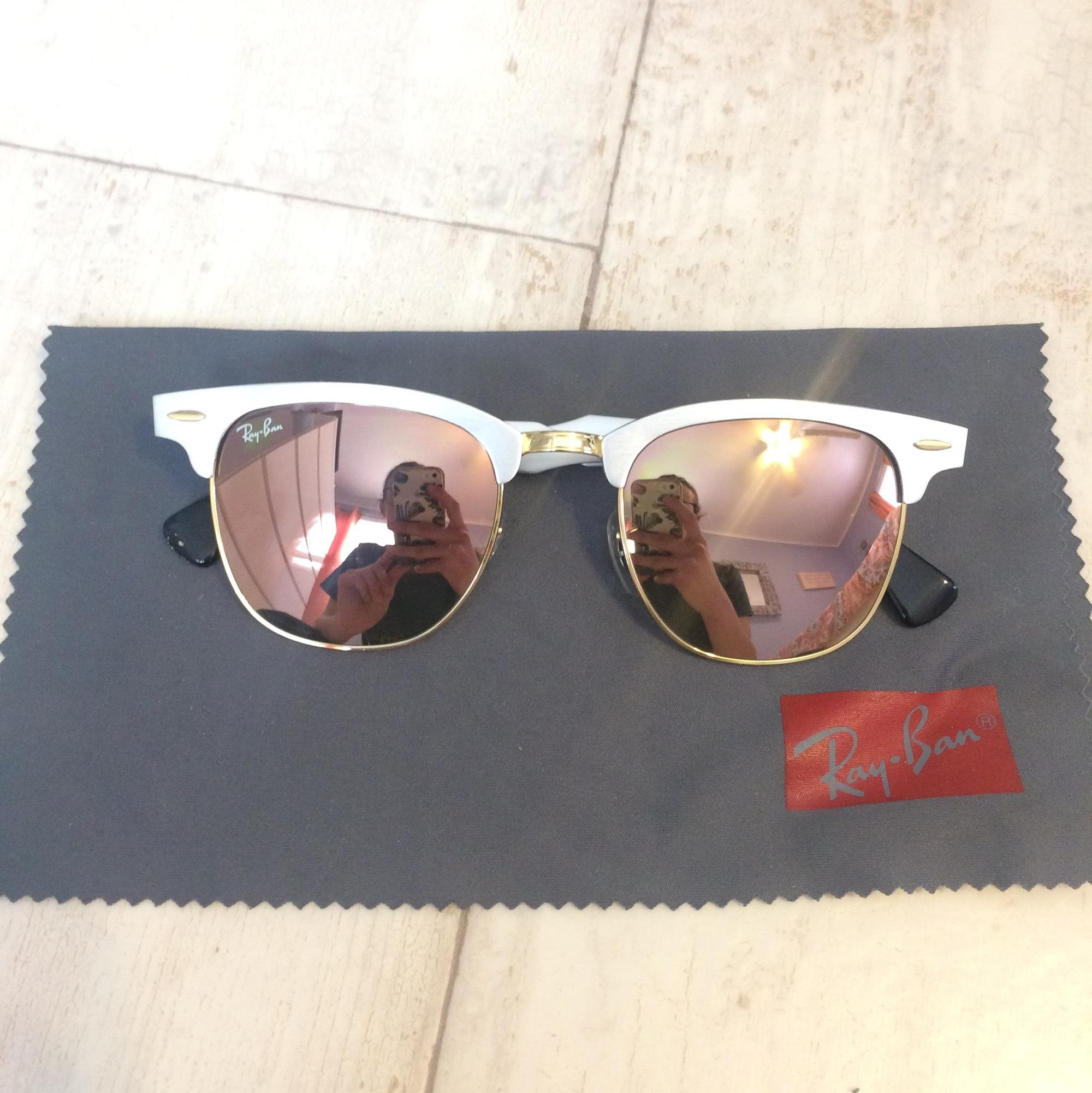 9201e0fad25e6 shopping ray ban clubmaster aluminum rb3507 sunglasses 931bf af3c1  50% off ray  ban aluminum clubmaster review a0da0 bb50f