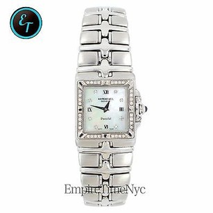 Raymond Weil Raymond Weil Parsifal 9791 Stainless Steel Mother Of Pearl Date Quartz Unisex