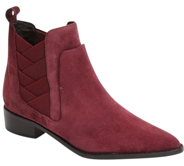 buy cheap finishline cheap best prices Rebecca Minkoff Suede Pointed-Toe Ankle Boots cheap pay with visa factory outlet cheap price 9RPCTgDG
