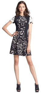 Rebecca Taylor short dress Floral Artisanal Blocked A-line on Tradesy